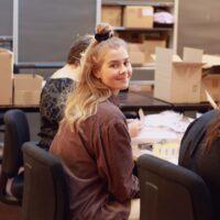 Roosa Ruotsalainen, työtoiminnan ohjaaja