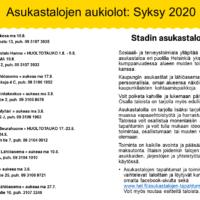 Stadin asukastalot aukavat portaittain. Asukastaloissa on monenlaista toimintaa ja tapahtumia.