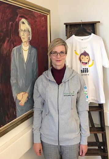 Niemikotisäätiön hallituksen uusi puheenjohtaja Laura Pikkarainen