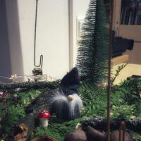 Ompelimossa on ilmassa joulun tuoksua ja hiven joulun taikaa..
