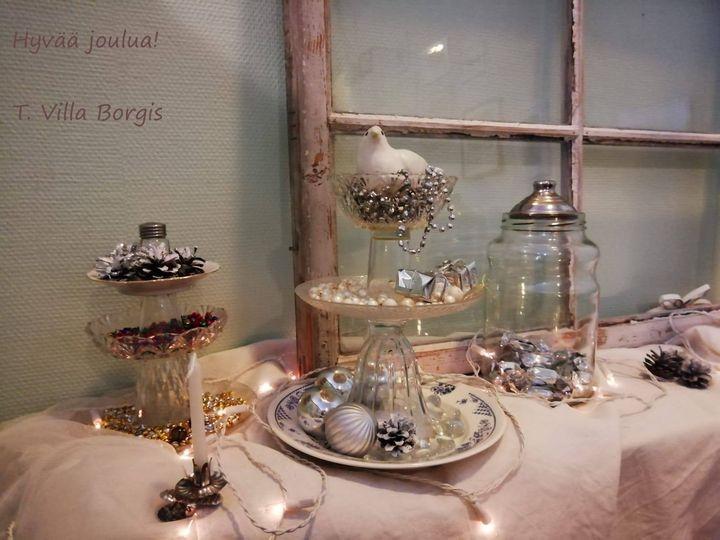 Villa Borgis toivottaa kaikille lämmintä joulumieltä ja toiveikasta Uutta Vuotta...