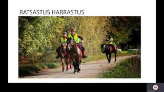 Haagassa pidin kaksiosaisen luennon ratsastuksesta ja hevosista. Tässä alla kump...