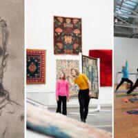Ilmaisia etätapahtumia yli 40 museossa – Mental Health Art Weekilla opastuksia, keskustelutilaisuuksia ja taidejoogaa!